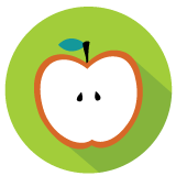 Sliced Apple Icon